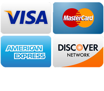 Roth accepts Visa, Mastercard, American Express, Discover