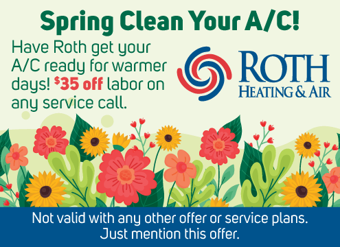 Roth $35 off Labor Spring A/C Service