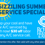 Roth $30 off Labor Summer A/C Service
